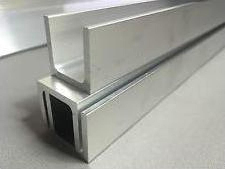 Profil U din aluminiu