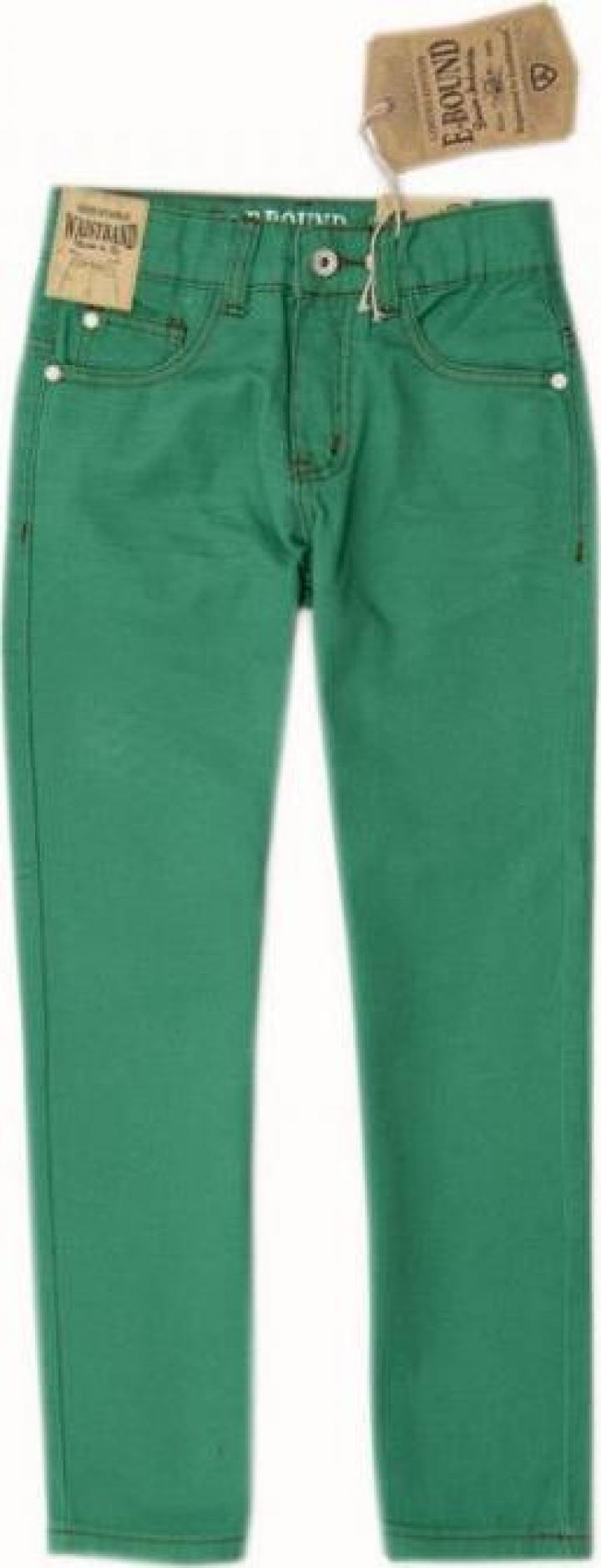 Jeans pentru baieti verzi