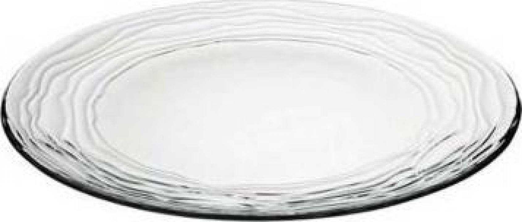 Farfurie intinsa din sticla temperata Vidivil colectia Oasi