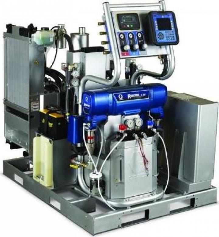 Sistem integrat spuma poliuretanica Graco Reactor E-XP2i