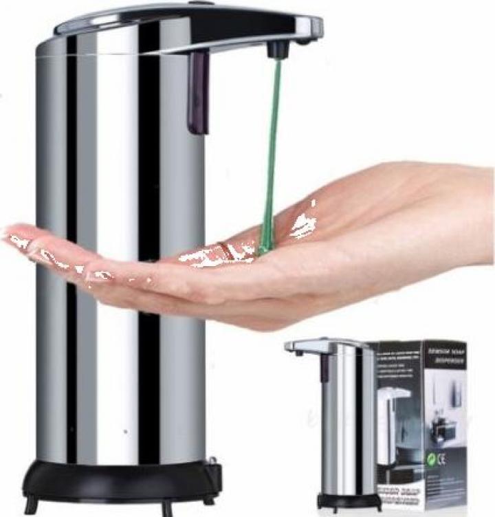Dozator sapun lichid cu senzori