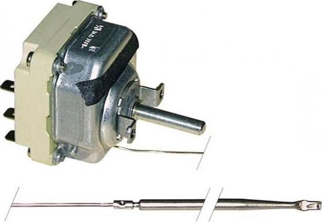 Termostat trifazic reglabil 50-300*C, 16A, bulb 4mmx292mm