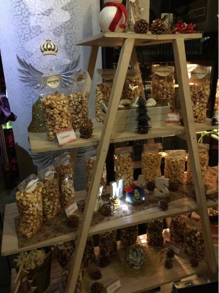 Popcorn bar pentru botez, banchet