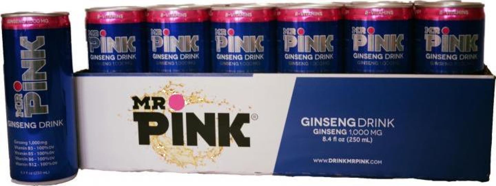 Bautura energizanta cu ginseng Mr. Pink
