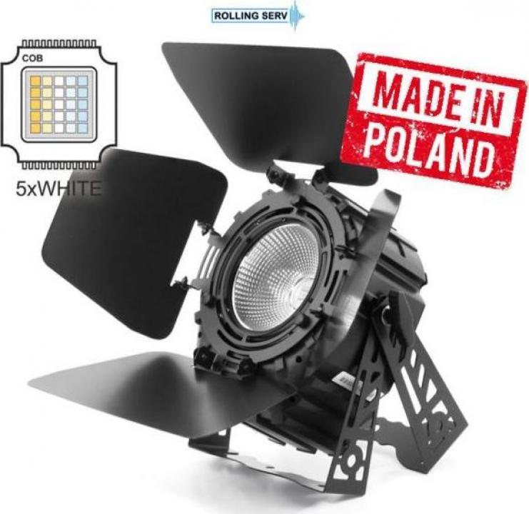 Proiector LED PAR 64 250W 5in1 COB Short White 2000-9000K