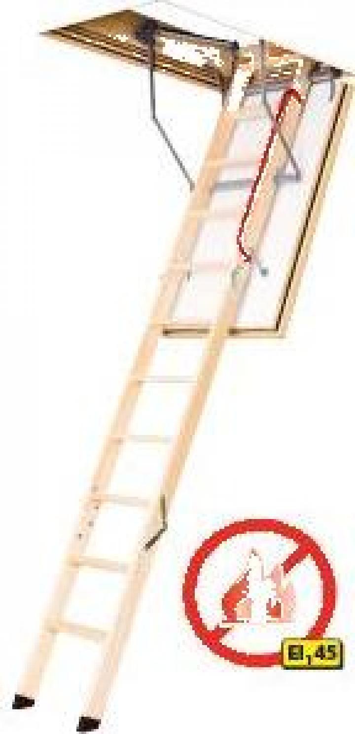 Scara modulara Fakro din lemn LWF 45 antifoc