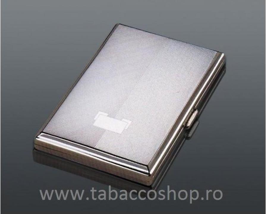 Tabachera din metal 0105 pentru 20 tigari lungi