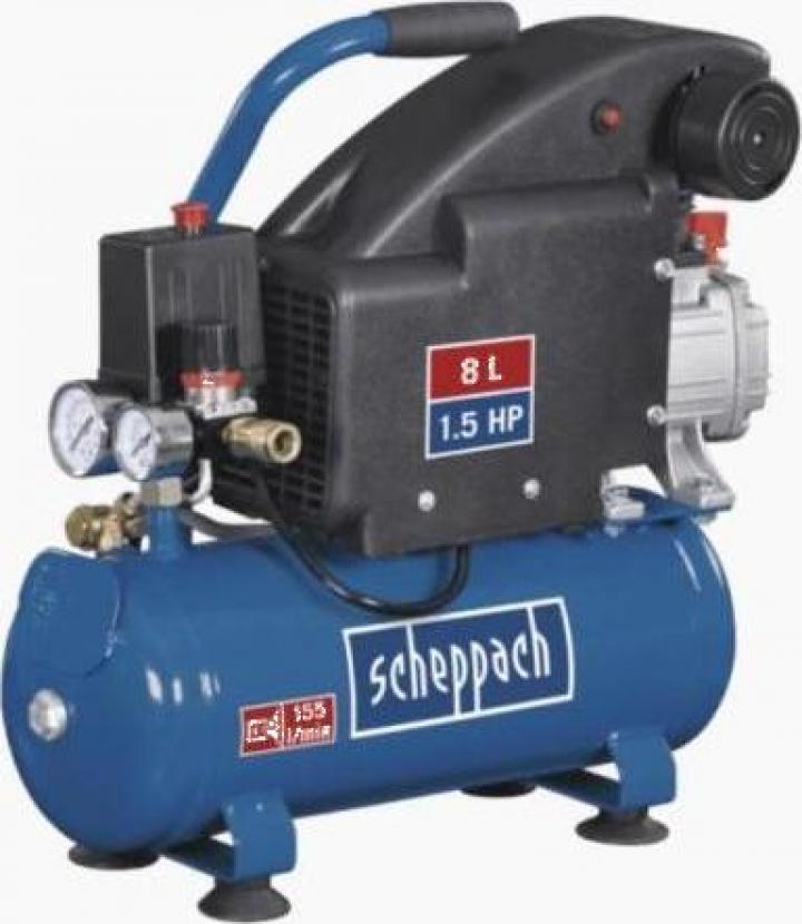 Compresor semi-profesional HC 08 Scheppach