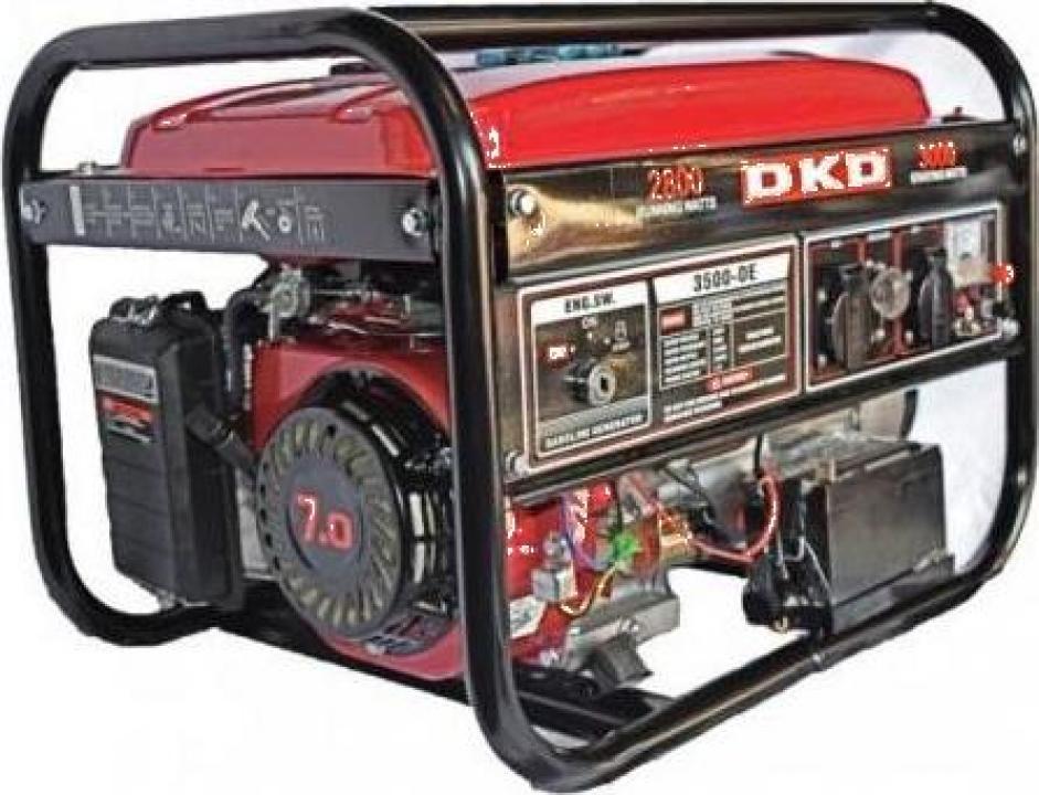 Generator monofazat cu pornire electrica Dakard DKD LB 3500E