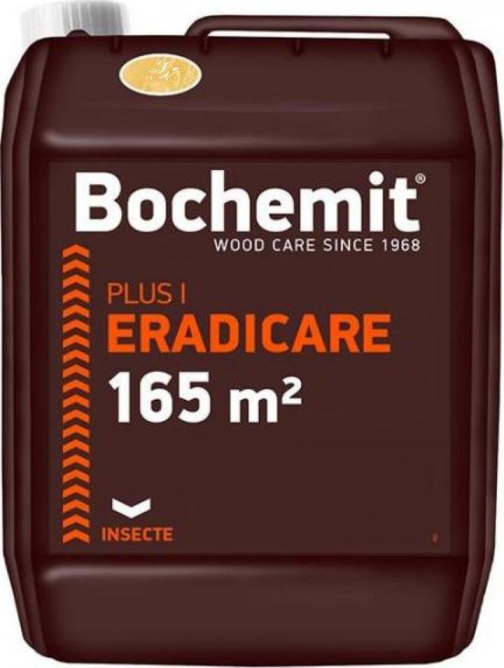 Solutie eliminare carii de lemn Bochemit Plus P 5 Kg