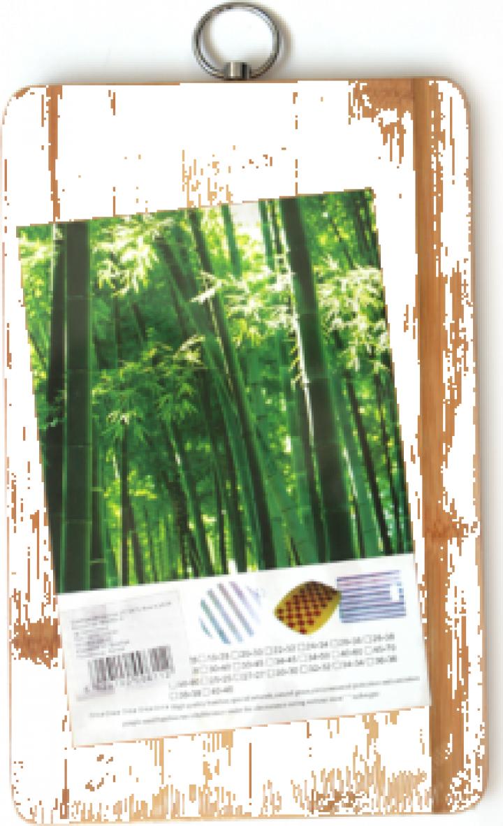 Tocator bucatarie bambus Raki 30x20x1,8cm
