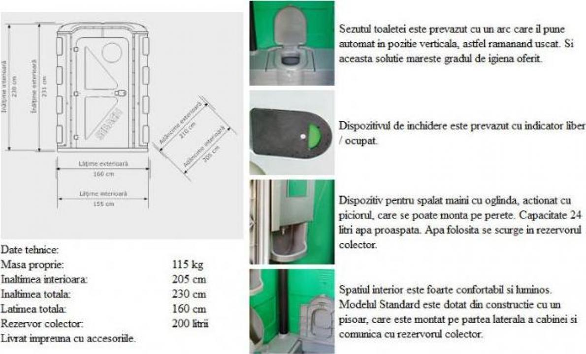Toaleta ecologica pentru persoane cu handicap