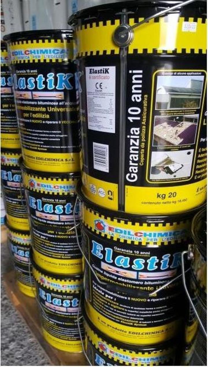 Membrana hidroizolanta lichida Elastik 20 kg/bidon