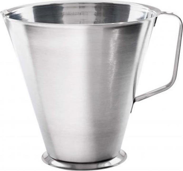 Cana din inox gradata profesionala 1 litru