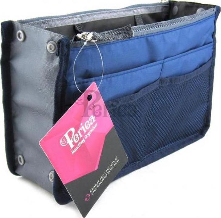 Organizator geanta sau poseta Chelsy-albastru regal