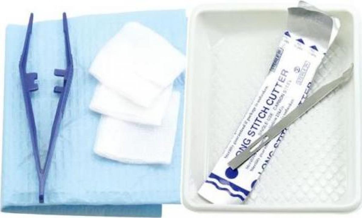 Scos fire chirugicale, curatare plagi/rani