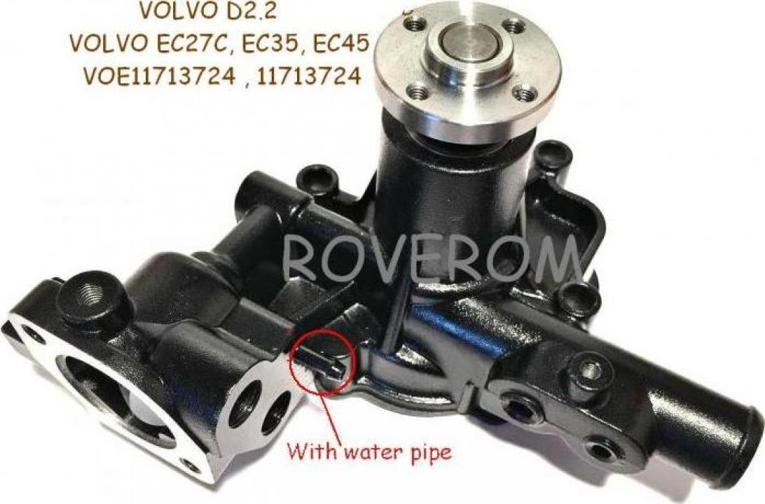 Pompa apa Volvo D2.2, Volvo EC27C, EC35, EC35C, ECR38, EC45