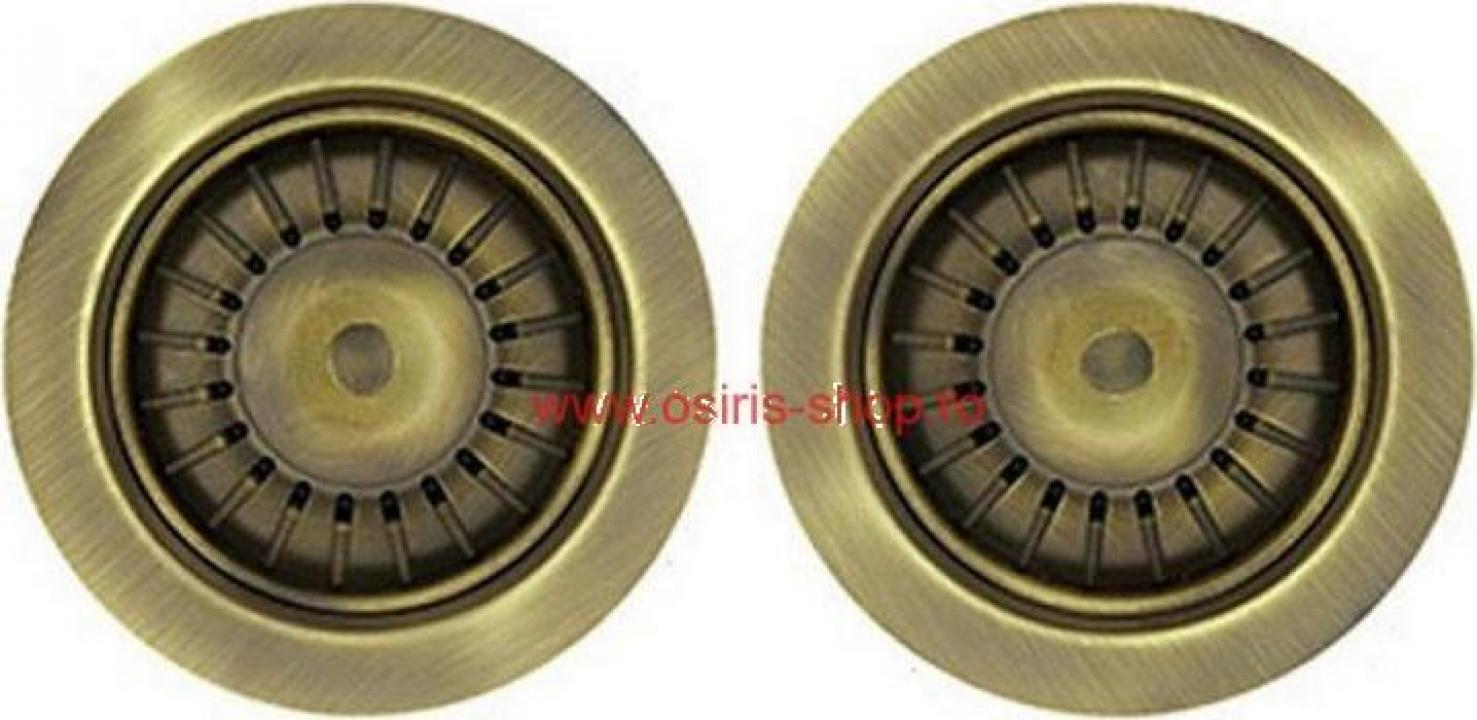 Ventil scurgere bronz 2 cuve APM2VSCTPGO