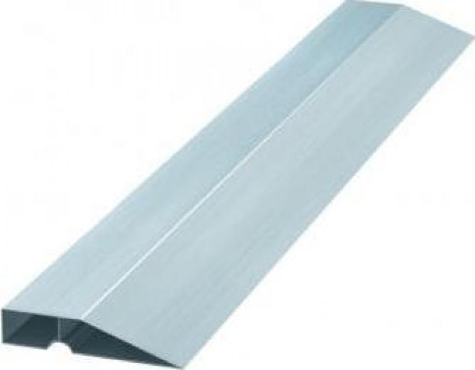 Dreptar trapezoidal Sibrteh 89609, lungime 2 m, Aluminiu