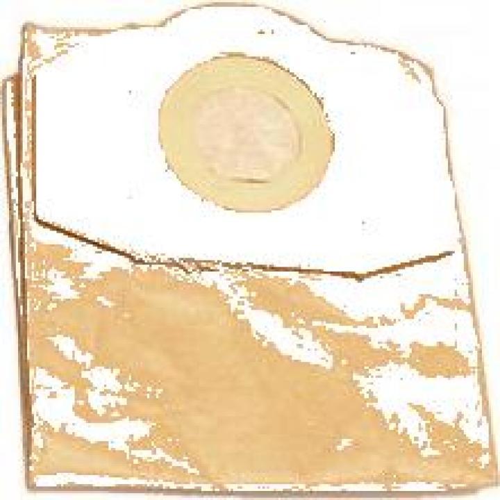 Set 5 saci de hartie pentru aspirator, Dedra 66001, 20 L