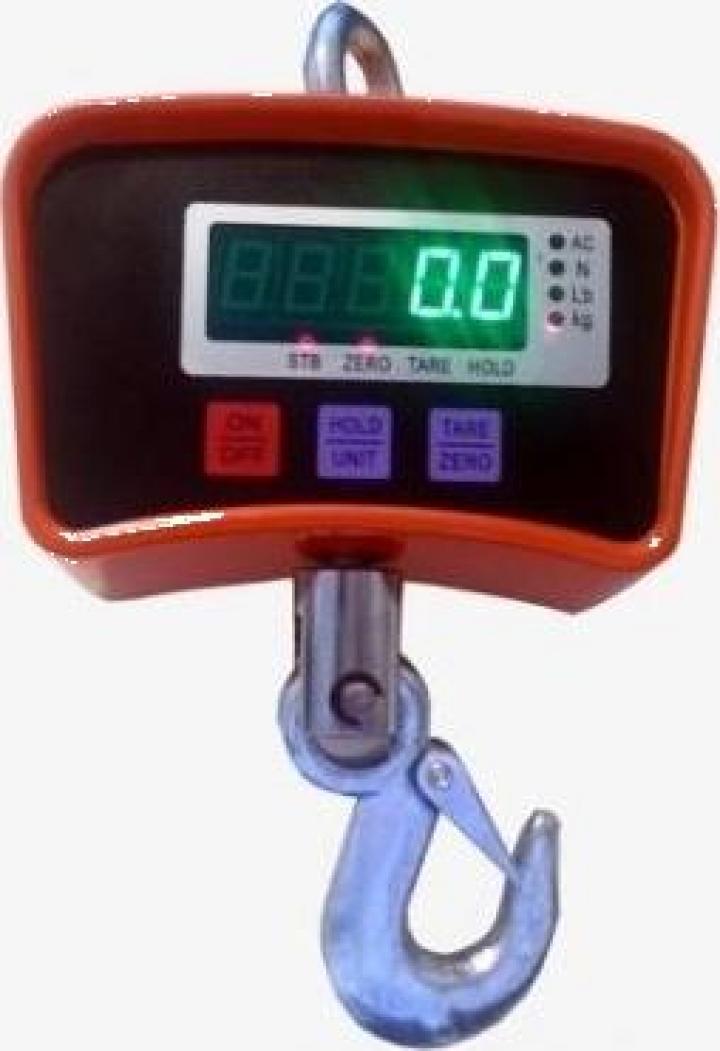 Cantar electronic cu carlig 500 kg OCS-500