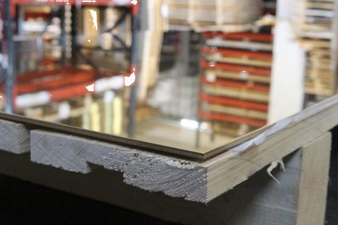 Tabla de alama 3x1000x1500mm, CuZn37 CW508L MS63 inox, cupru