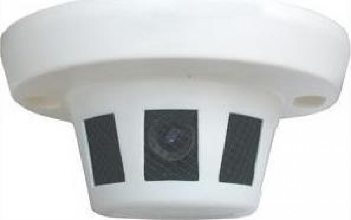 Camera spion video ascunsa in senzor de fum BST-387