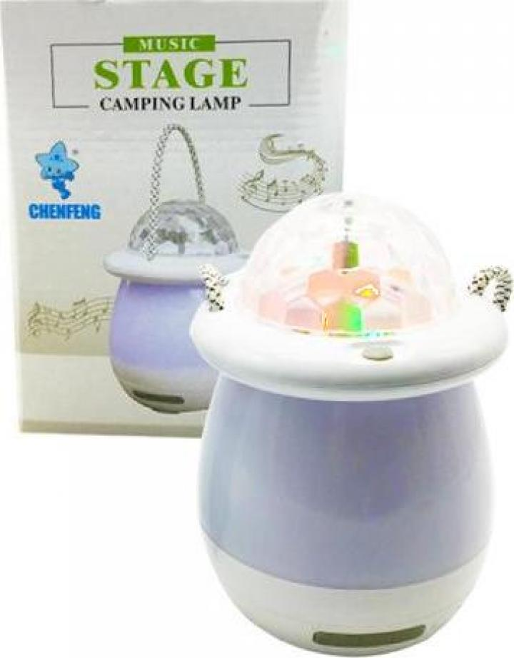 Lampa cu led Music stage camping lamp
