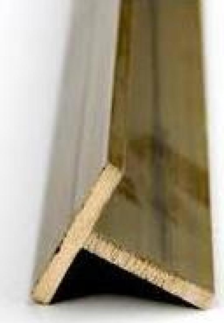 Profil T alama 30x30x2mm CuZn37 CW508L MS63