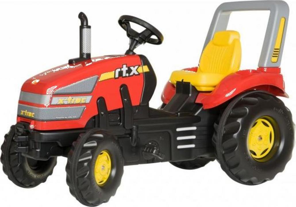 Jucarie tractor cu pedale Rolly Toys RollyX-Trac 3-10 ani