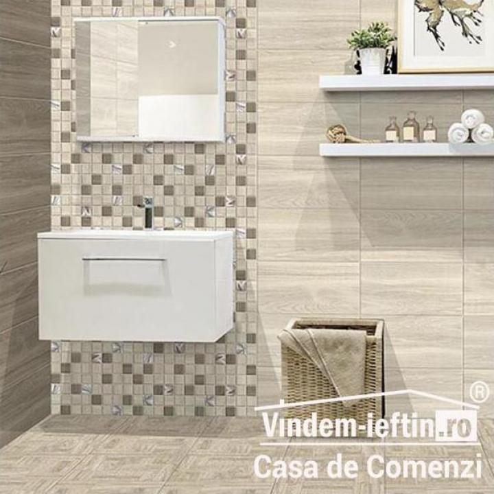 Faianta Softwood Mozaic 30x30 cm bej