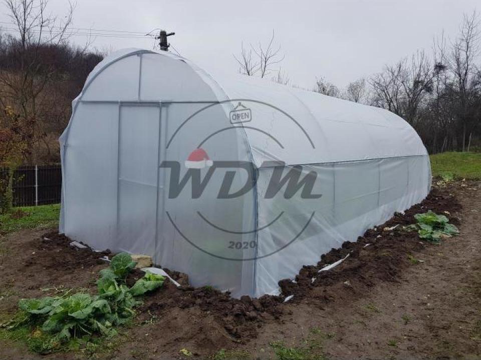 Solar legume - L x l x h: 8 x 4 x 2,8 m
