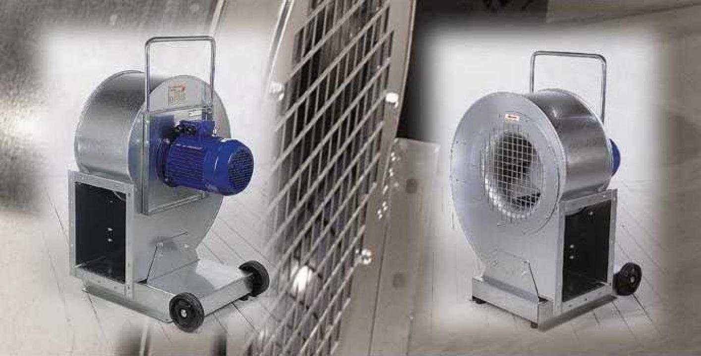 Ventilatoare, exhaustoare pentru silozuri si magazii