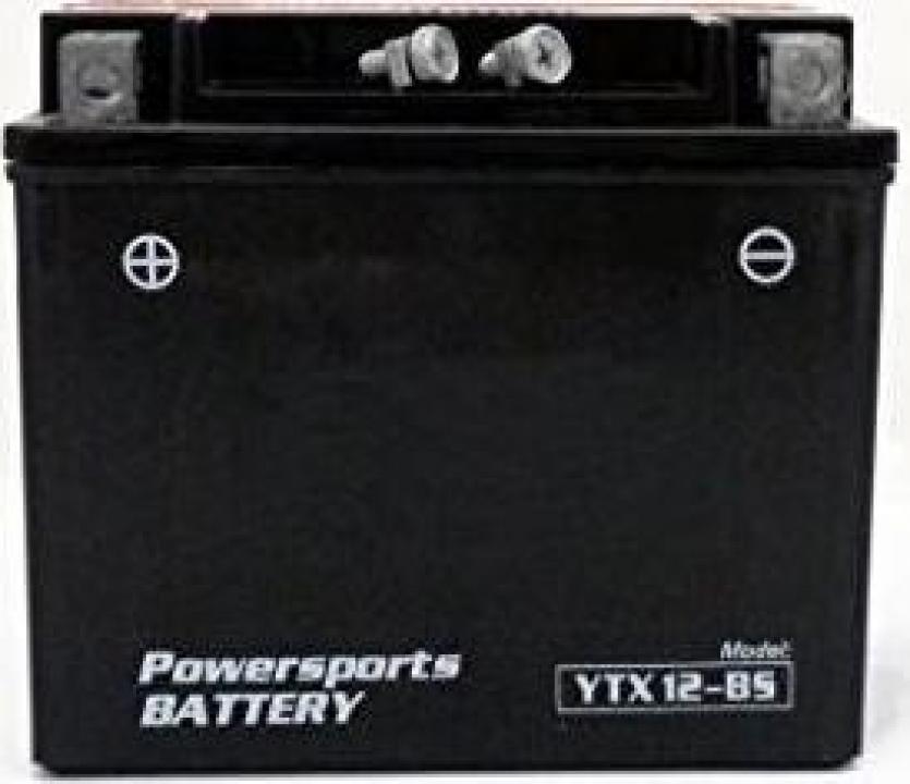 Baterie gel scuter, Atv 12ah 12v (Acid preactivata)