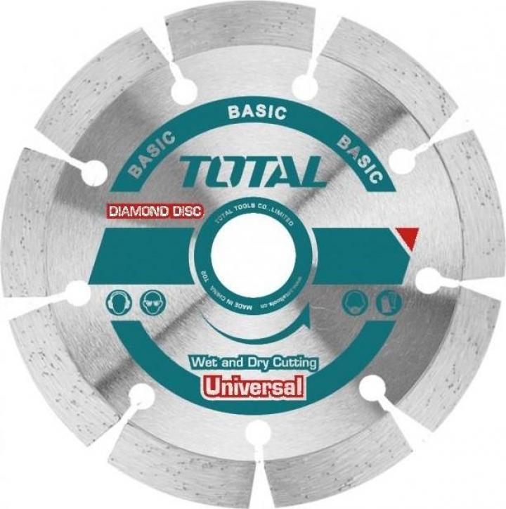 Disc diamantat taiere beton 180mm