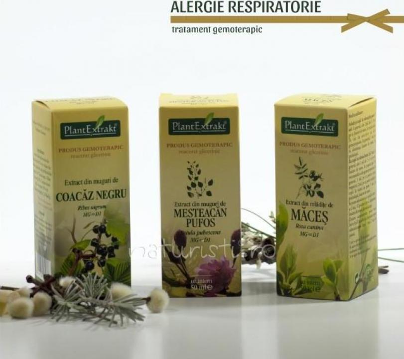 Tratament naturist - Alergie respiratorie