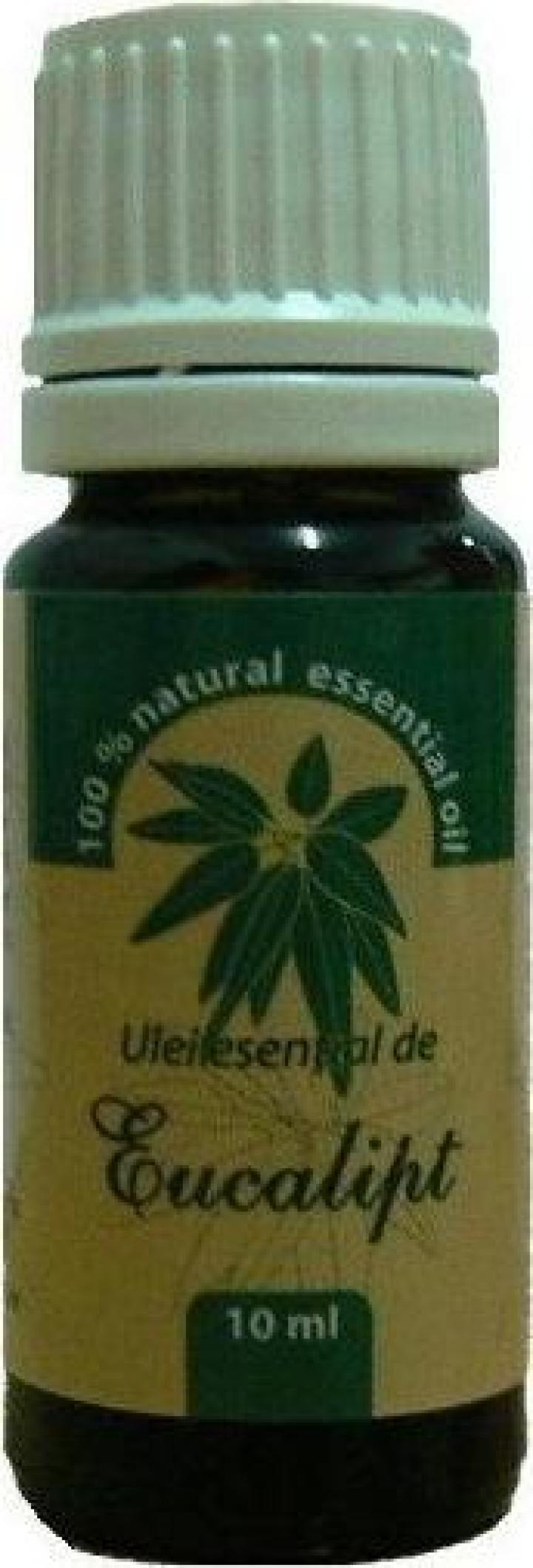 Ulei esential de Eucalipt - 10 ml Herbavit