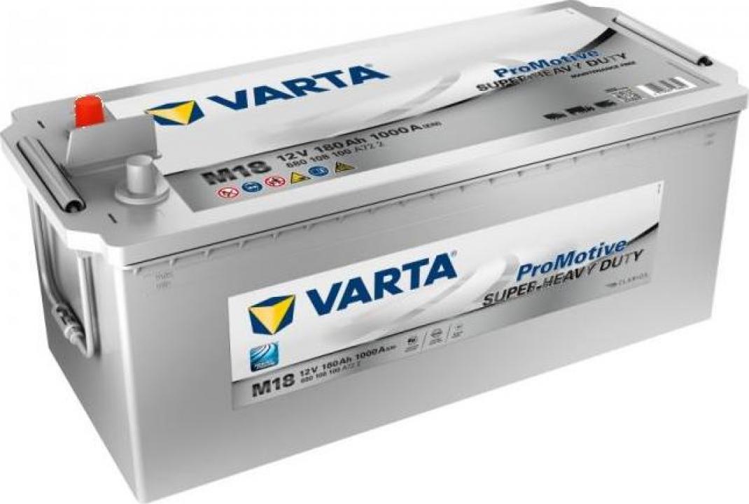 Acumulator auto Varta Silver 180Ah 1000A ETN: 680108100