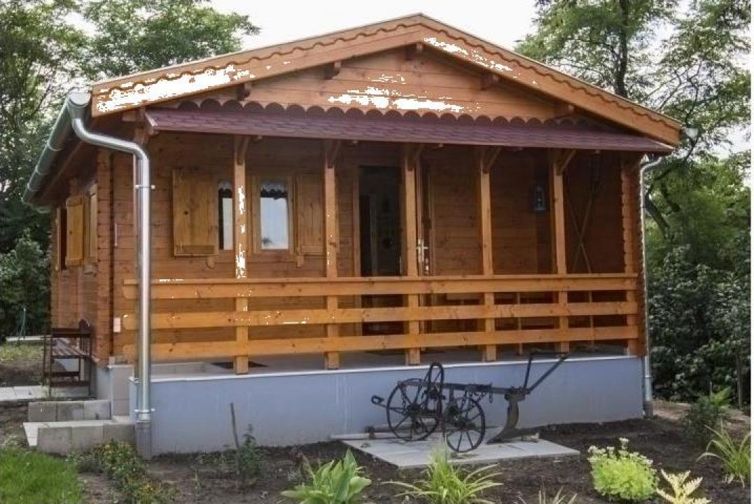 Casa de vacanta din lemn - 39 mp