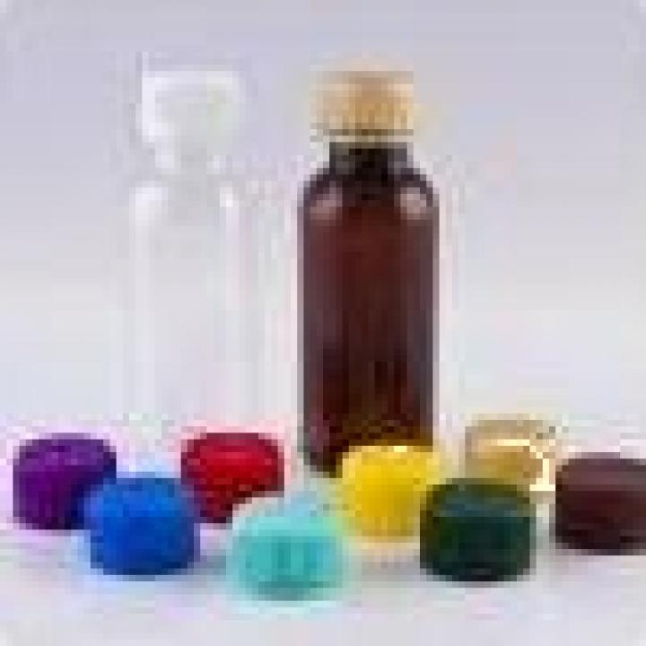 Sticle PET 30ml rotunde cu capac (1200buc)