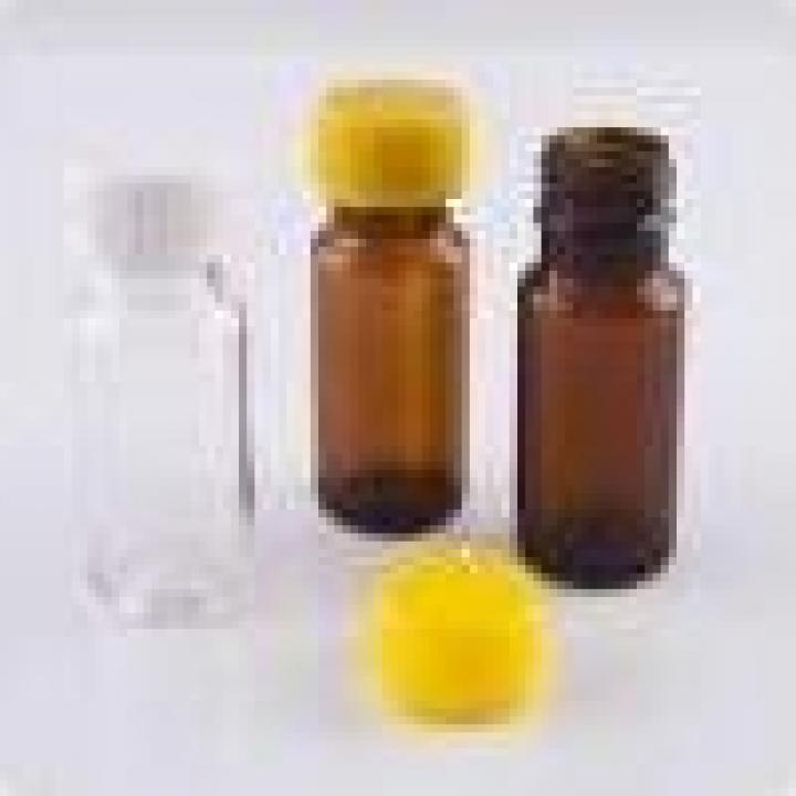Sticle PET 10ml rotunde cu capac (2250buc)