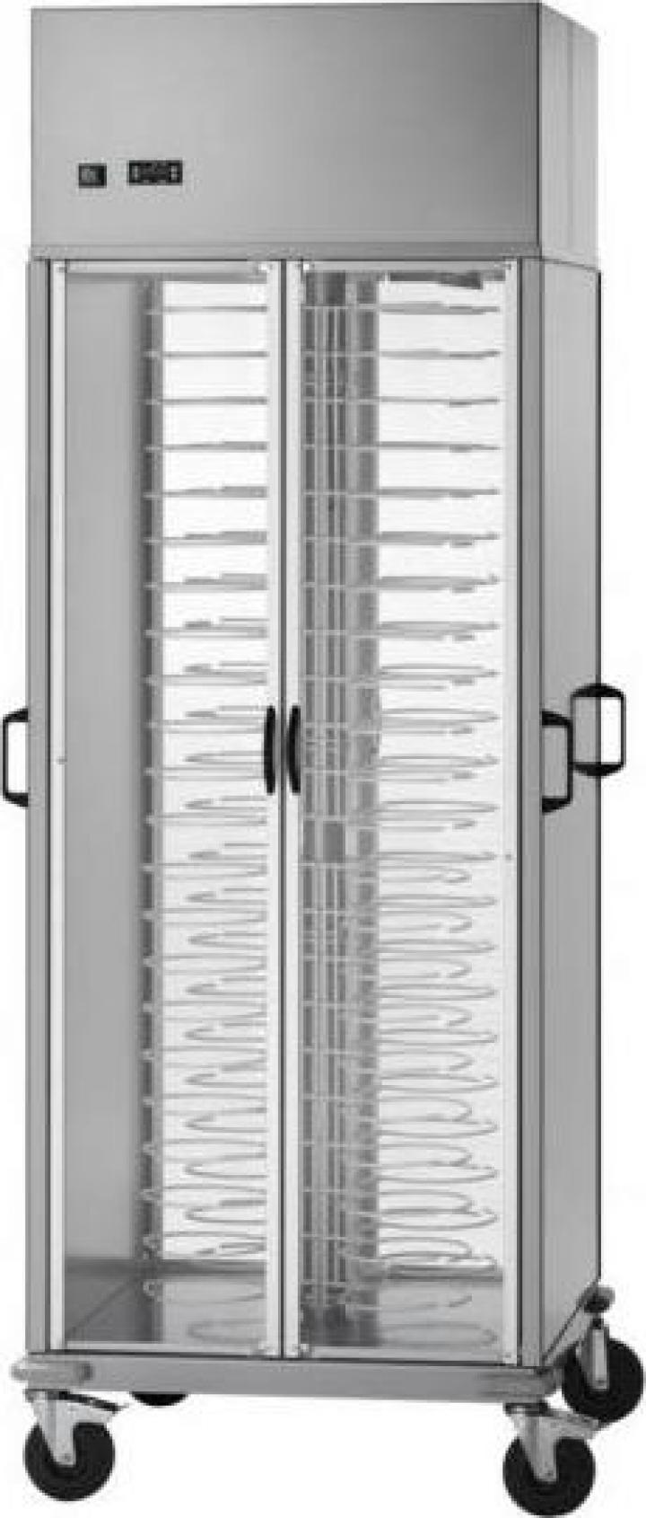 Dulap refrigerat pentru farfurii, pe role, CG / CA