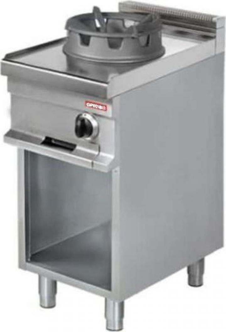 Masina de gatit wok, 425 mm, WR911