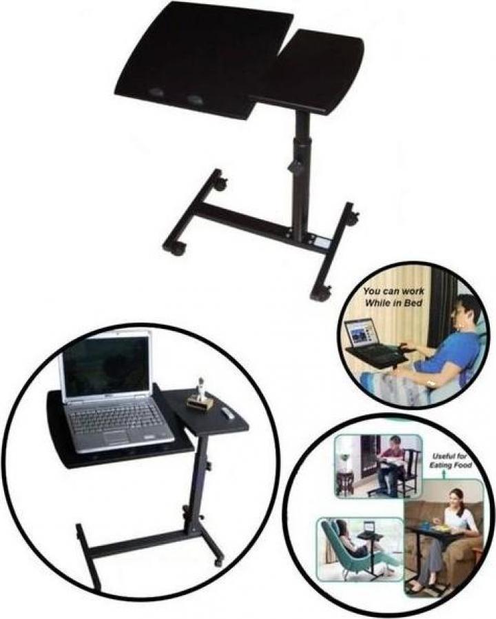 Masuta pentru laptop reglabila si ajustabila - birou