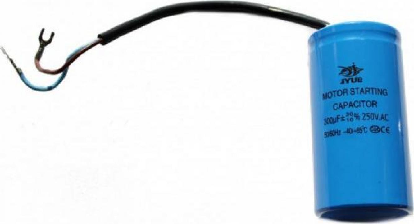 Condensator de pornire 300uF 250V AC B-Cp.300uF.250