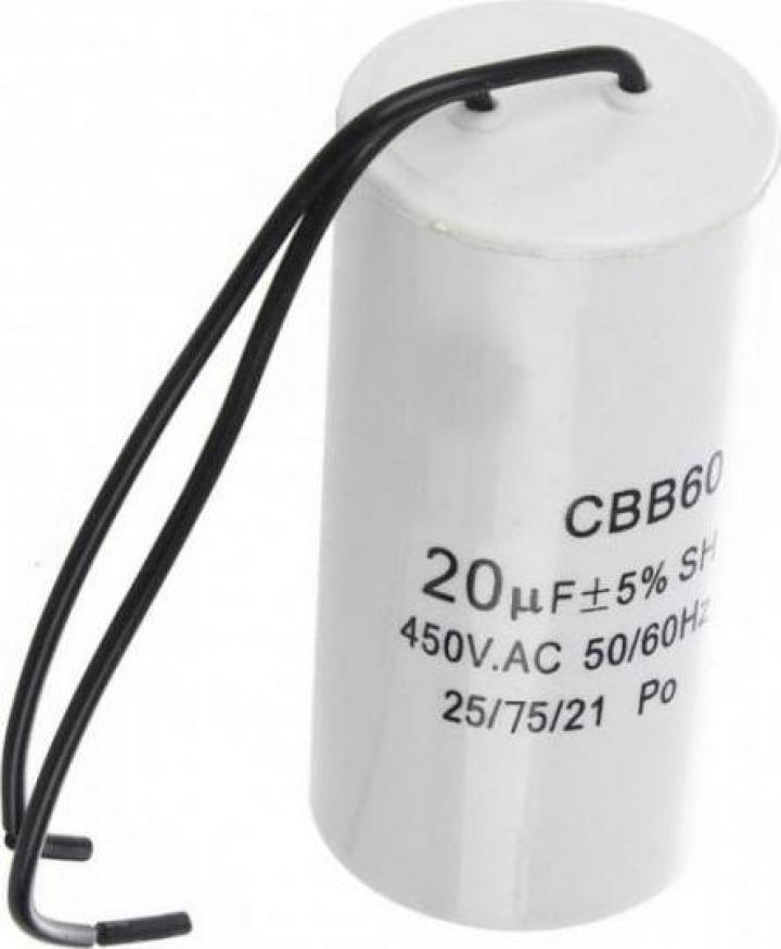 Condensator de pornire 20uF B-Cp.20uF