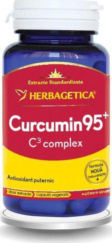 Supliment alimentar Curcumin 95 C3 Complex - 60 cps