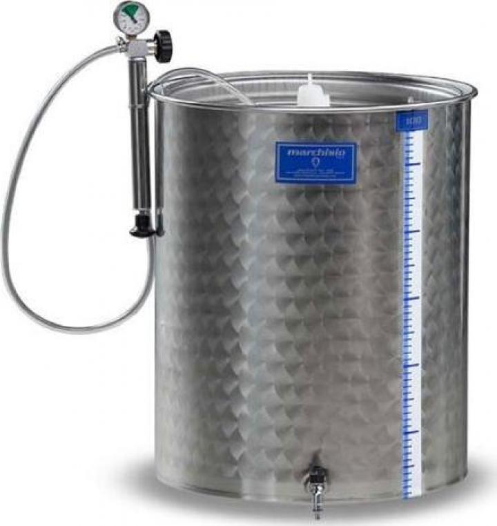Cisterna inox Marchisio SPA2150, 2150 litri