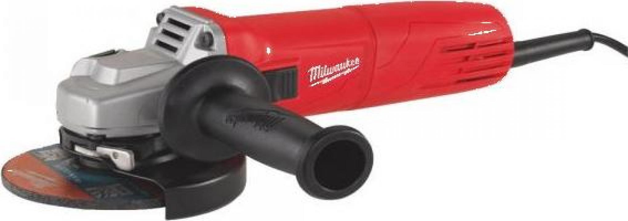 Polizor unghiular Milwaukee AG 10-125 EK, 1000 W, 125 mm
