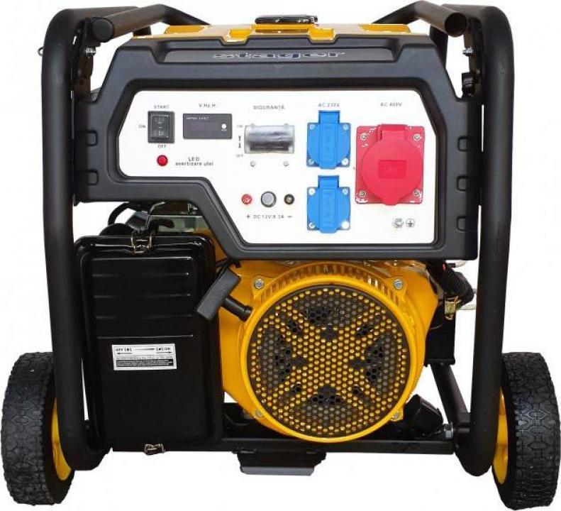 Generator open-frame Stager FD 7500E3, trifazat, 6kW